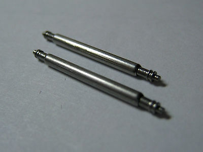 Watch Spring Bars,Pins,Lugs. 2mm Diameter. One pair. Fast delivery from UK.
