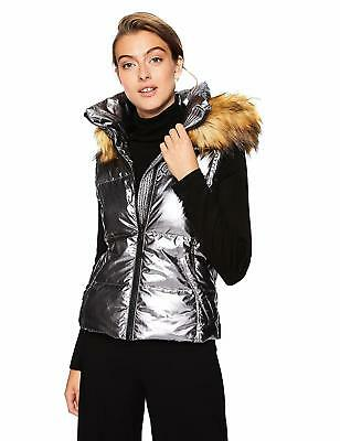 a568e53eaae NEW* S13 WOMEN'S Down Puffer Jacket Removable Hoodie with Faux Fur ...