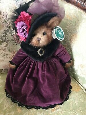 "Bearington Bears Easter ""Tasha Teabeary~ 14""~Htf~All Tags~Wow~Gorgeous!"