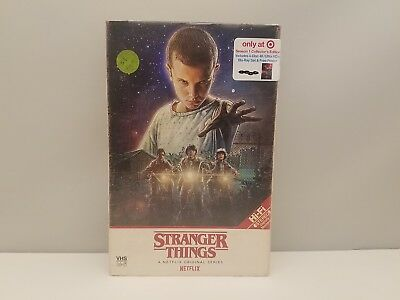Stranger Things Season 1 Collector's Edition 4 Disc Set (4K/UHD + Blu-Ray)