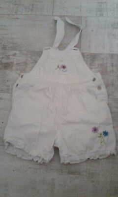 TESCO baby girls dungaree,size18-24mnths,used,very good condition