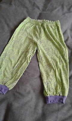 Girls pyjama bottoms,no size but best for 2/3 yrs,by unknown,used