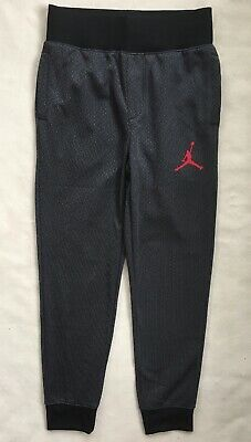 08d38f5a0b89 NIKE AIR JORDAN Boys Jogger Pants Sweatpants Black 954561 NWT  50 LARGE  12-13