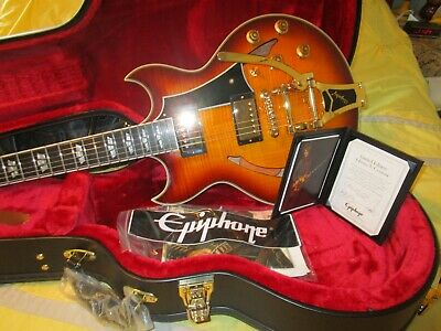 epiphone limited edition johnny a. custom outfit