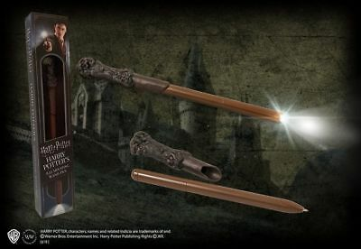 """Harry Potter Large 9"""" Official Licensed Illuminating Light Up Wand Pen Brand New"""
