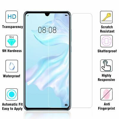 Panzer Glasfolie Huawei P 30 Display Schutz Folie Glass Full Screen Hartglas  9H