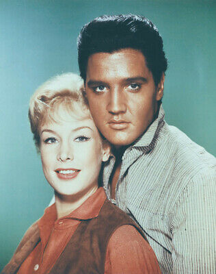 NEW IMAGE Flaming Star N3812 Elvis Presley and Barbara Eden UNSIGNED photo