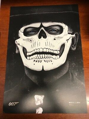 13x19 SPECTRE 007 IMAX AMC EXCLUSIVE PROMO MOVIE POSTER NEW, HARD TO FIND
