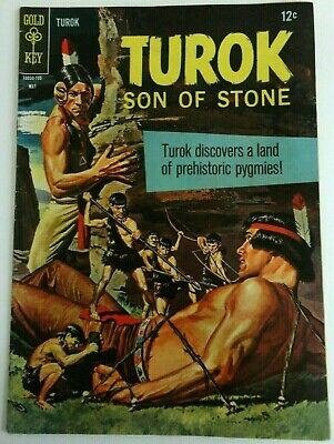 TUROK  #57 *FN/FN+ Solid!* (GOLD KEY 1965)   -combine ship-