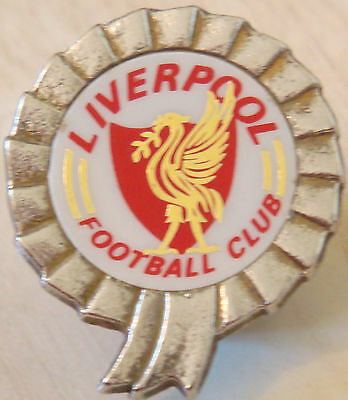 LIVERPOOL Vintage insert type badge Maker COFFER LONDON Brooch pin 32mm x 37mm