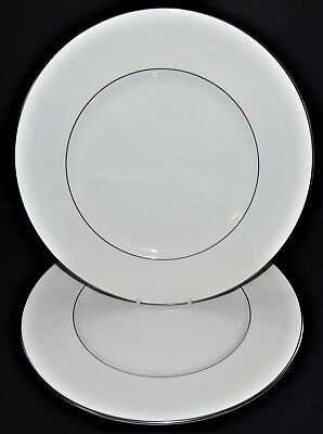2 Royal Doulton Amulet Pattern H4998 Dinner Plates Fine Bone China England