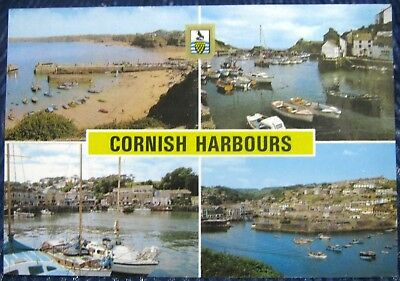 England Cornish Harbours Newquay Polperro Padstow - posted 1988