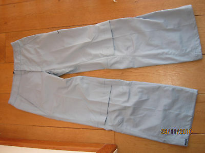 Nike Fit Dry Pale Blue Wide Leg Lounge Training Trousers 8 L Bnwt