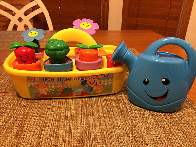 509baa7522ff Fisher Price Laugh & Learn Smart Stages Grow 'n Learn Garden Caddy Watering  Can