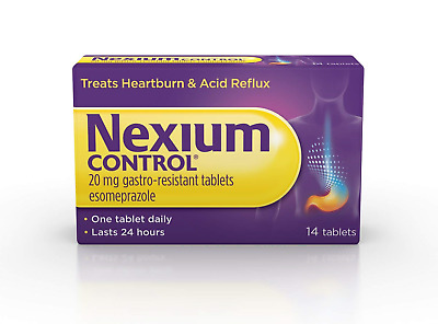 Nexium Control 14 Count Heartburn and Acid Reflux Relief Tablets, 20mg Tablets