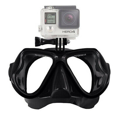 Wide Vision Face Goggles Mask Underwater Scuba Snorkel for GoPro 6 5 4 3 3+ 2