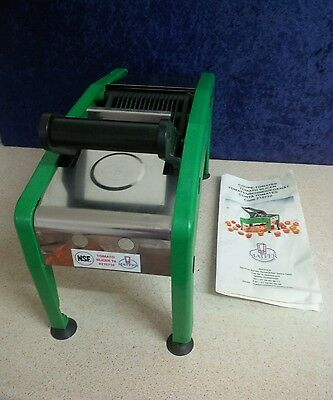 Tomato -Soft Fruit -Veg Slicer, Suit Fast Food, Burger Bar, Sandwich, Pizza Shop