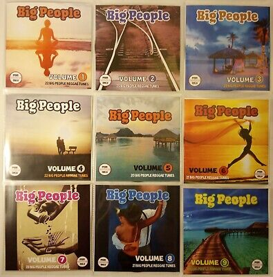 'Big People' MEGA 9CD pack Essential Reggae Collection (Full Length Tracks)
