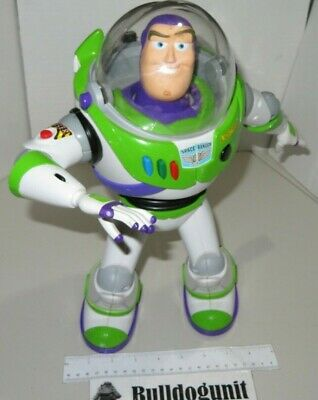 "Buzz Lightyear Disney Toy Story 13"" Remote Control U-Command Thinkway Toys Pixar"