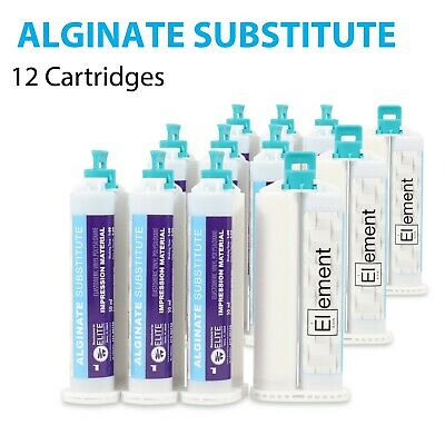 Element ALGINATE SUBSTITUTE VPS PVS Dental Impression Material 12 X 50ML