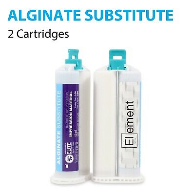 Element ALGINATE SUBSTITUTE VPS PVS Dental Impression Material 2 X 50ML