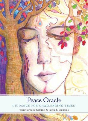 Peace Oracle Cards Guidebook Set Guidance For Challenging Times Tarot