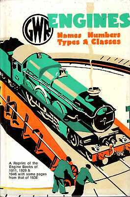 Anon GWR (GREAT WESTERN RAILWAY) ENGINES: NAMES, NUMBERS, TYPES AND CLASSES, A R