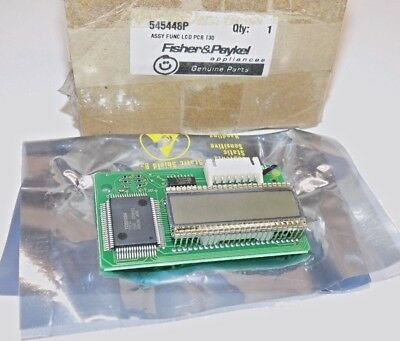 Fisher & Paykel Part #545448P ASSY LCD PCB T30 Genuine OEM NEW!! SHIPS FREE!!