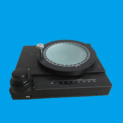 Microscope Attachment  360 Degrees Rotating Mechanica Platform X-Y Movable Stage
