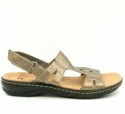 Clarks Leather Lightweight Sandals Leisa Lakelyn Tan 10W NEW A291718