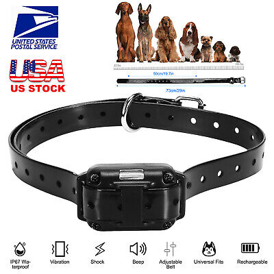 🔥Waterproof Dog Shock Training Collar Electronic Remote 885 Yards For 1/2/3 Dog
