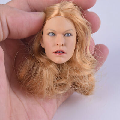 "1:6 KUMIK 13-89 Female Head Sculpt Accessory F 12"" ZY Toys Phicen Action Figure"