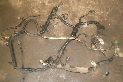 ✅ 1989 HONDA Prelude 2.0 Si B20A5 M/T Engine Wire Wiring Harness B Z A Wiring Harness on