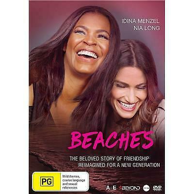 Beaches Dvd, New & Sealed, 2019 Release, Free Post