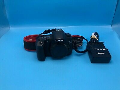 Canon EOS 60D 18 MP Digital SLR Camera Body Only! USPS 2-3 days w/track+insur!!!