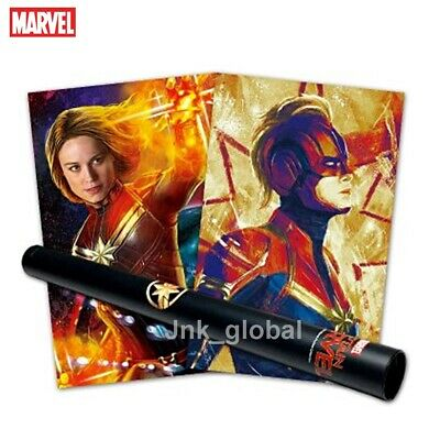[Marvel Studios] 100% Authentic Limited Edition Captain Marvel Posters 5P