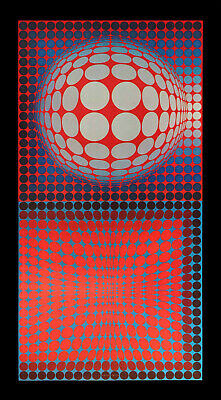 Victor Vasarely VP - RB 1974