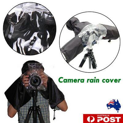 Camera Rain Cover Rainproof Camcorder Coat Protector for Canon Nikon DSLR SLR