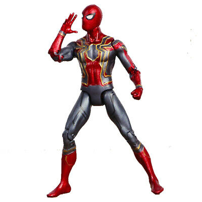 "Avengers 3 Infinity War Iron Spiderman 6"" Spider-Man Action Figure Toys Gifts UK"
