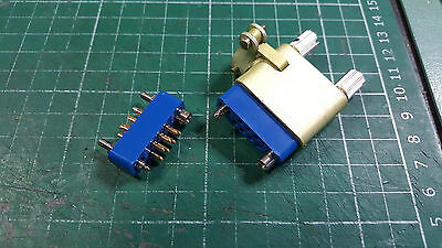 7 Pin Connector Gold plated Contacts Male Female