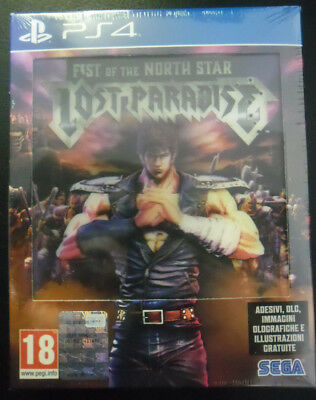 Fist Of The North Star Lost Paradise Kenshiro Limited Edition  Nuovo  Ps4