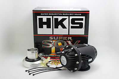 HKS Pop Off Ventil SSQV 4 BOV 1.8T VW Golf 4 Bora Audi A3 Turbo SQV BlackLimited
