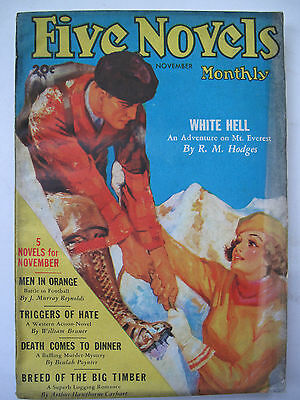 U.S.A. Pulp Magazine - FIVE NOVELS MONTHLY November, 1935