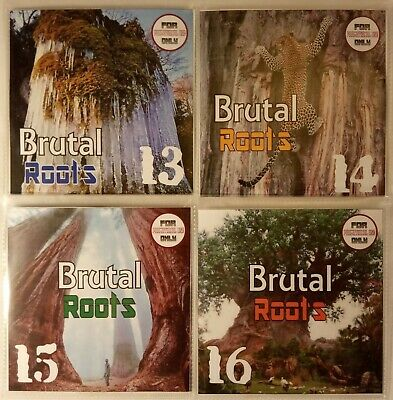 'Brutal Roots' Volumes 13-16 JUMBO Pack Modern Roots Reggae Collection (4CDs)