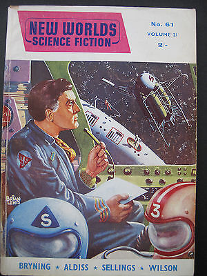 UK Magazine - NEW WORLDS SCIENCE FICTION No. 61, Jul 1957