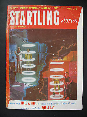 USA Pulp Magazine - STARTLING STORIES Apr, 1953