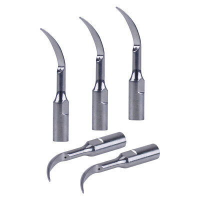 5 Piece Dental Ultrasonic Piezo Scaler Tips GD1 Fits DTE/SATELEC Handpiece CE
