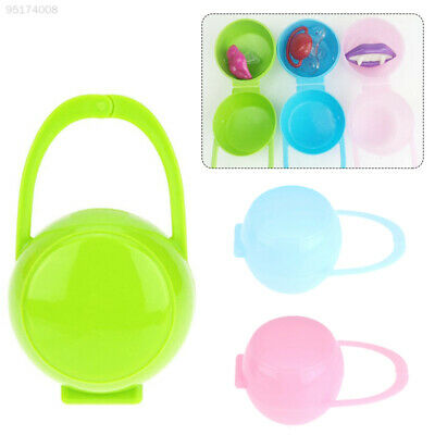 0BEE NUK Baby Mam Pod Soother Pacifier Dummy Travel Storage Box Case Holder 0m+