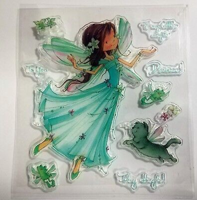 Fairy/Angel Clear Rubber Stamps Silicone - BNIP & Free P&P