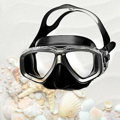 AMP408 Adult Double Layer Waterproof Silicone Diving Mask Underwater GogglesLP